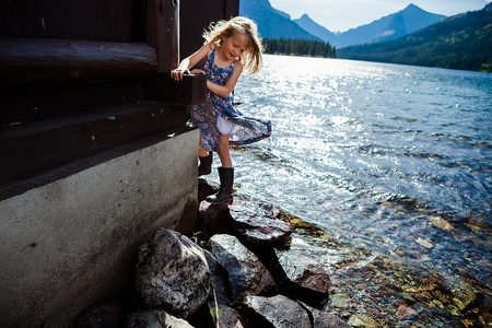 Elsa, Age 4