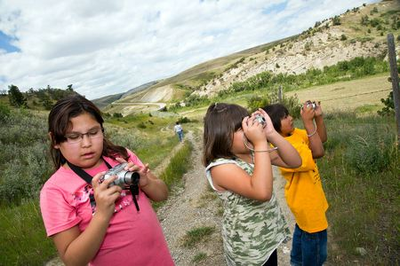 Boys and Girls Club Photography Field Trip