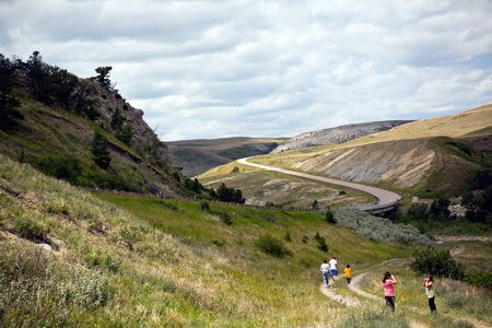 Blackfeet Boys & Girls Club Hiking Trip,